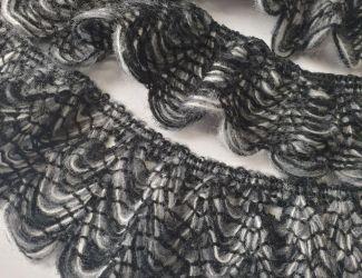Вязаное кружево Меланж