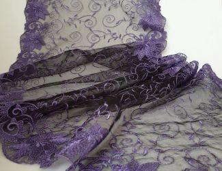 Швейцарское кружево Фиолет