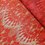 "Кружевная ткань ""Marsella"" 708, красный"