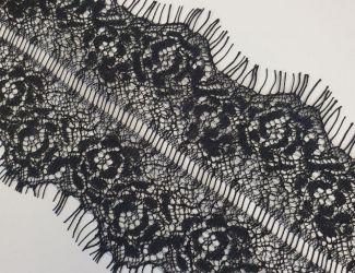 Кружево Французское ширина 10см (3050) Черный