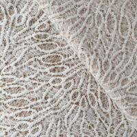 Ткань кружевная Ангора (9023) Крем.