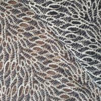 Ткань кружевная, Ангора (9023) Чено-белый