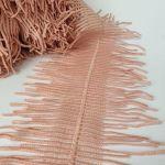 """Кружево макраме двухстороннее """"Grange""""(166302)  Розовый"""