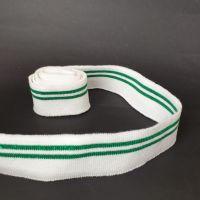 Манжет декоративный 100х3,5см (2204) Бел-Зелен