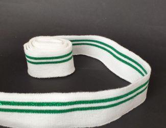 Манжет декоративный ширина 3см Бел-Зелен