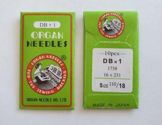 Иглы Organ DBx1 №110 Промышленные (97 класс)