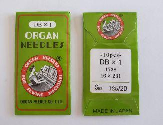 Иглы Organ DBx1 №125 Промышленные (97 класс)