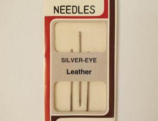 Иглы Regal для ручного шитья для кожи №300GL  Silver Eye