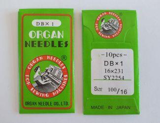Иглы Organ DBх1 №100 Промышленные (97 класс)