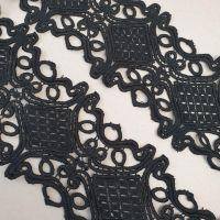 Кружево макраме 13см Черный