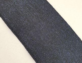 Манжет (довяз) трикотажный 75*10см. Черный/Синий