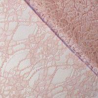 "Кружевная ткань ""Stella""с кордовой нитью 70190, роз.пудра"