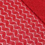 """Кружевная ткань """"Camelia"""" (3217) Красный"""
