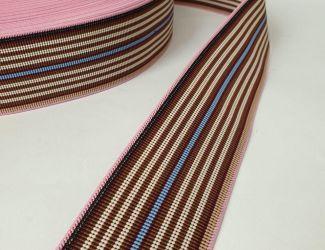 Резинка декоративная 5см (3509-1) Pink