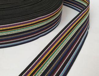 Резинка декоративная, цветная 5см. (3509)