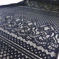 """Кружевная ткань """"Capio"""" (3345) Черный"""